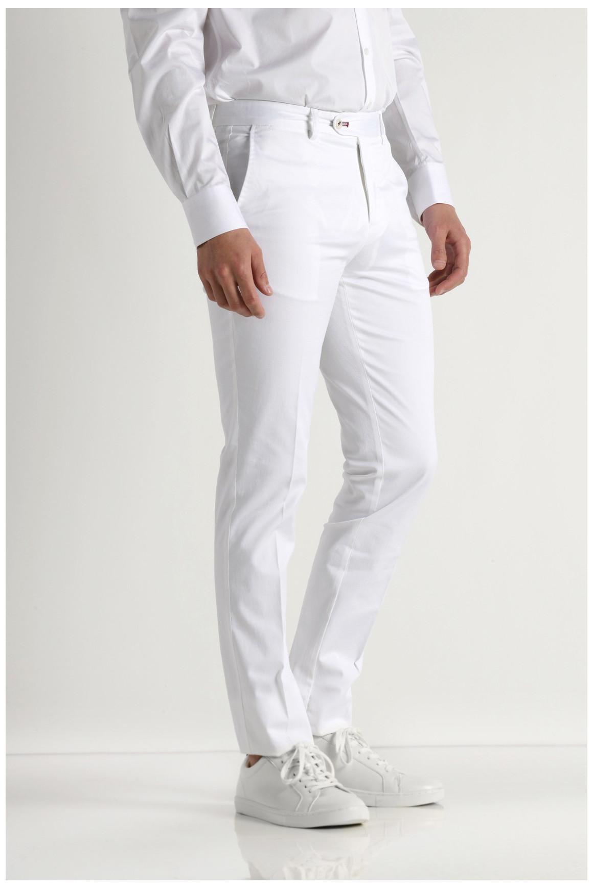 Pantalon VILLE BLANC