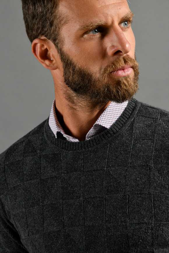 PULL 'GSTAAD' ANTHRACITE