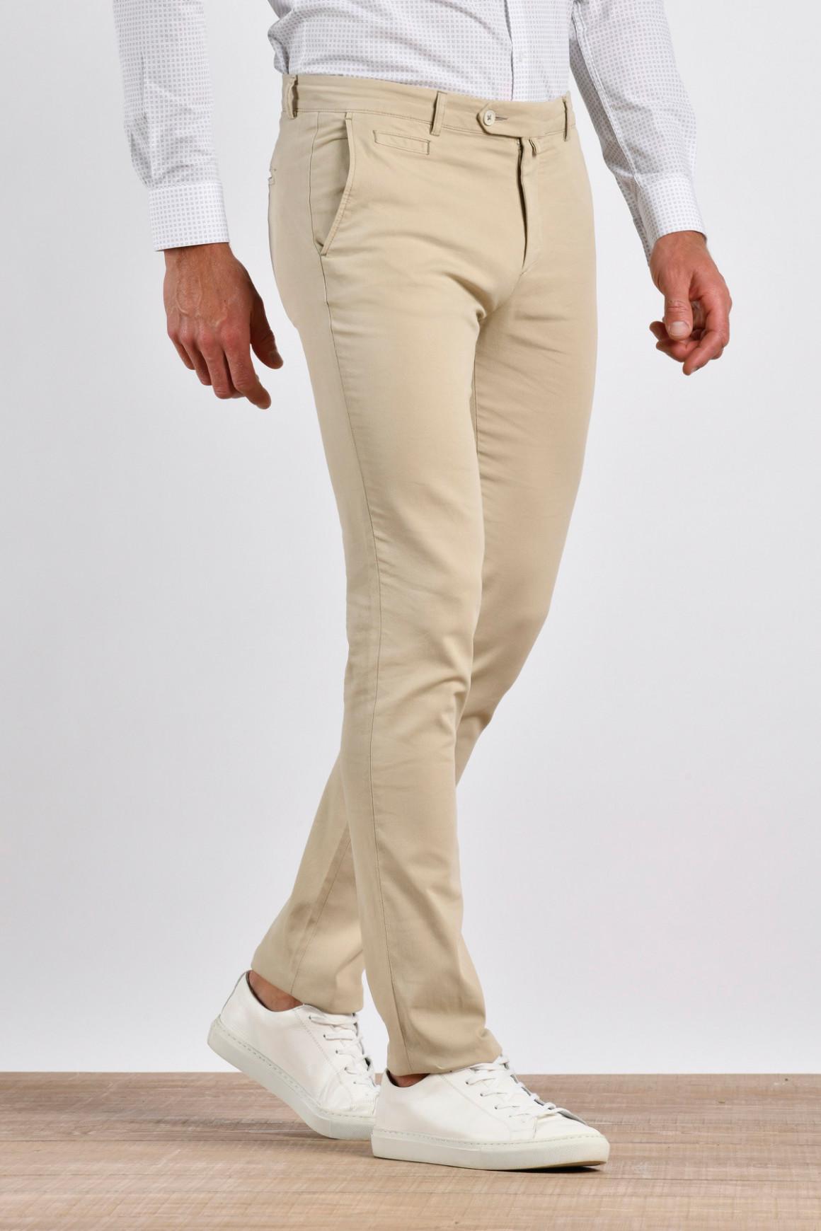 Pantalon Hugo Beige coton