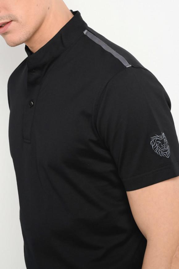 Polo Officier Noir