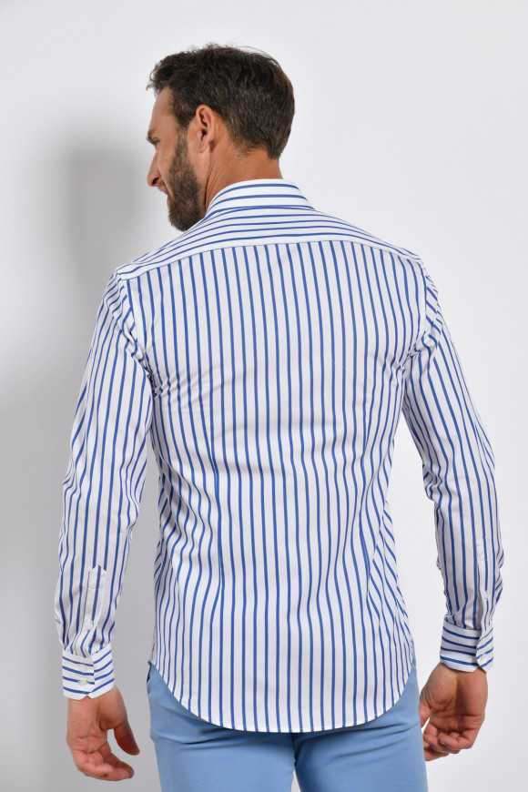 Chemise à rayures ministre