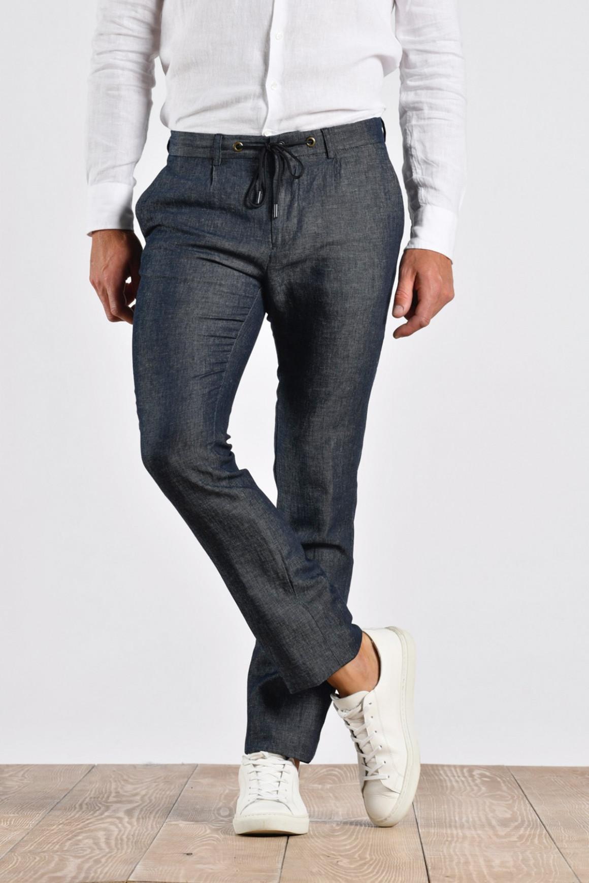 Pantalon 'Soho' Coton et Lin