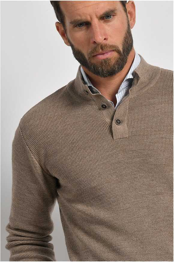 Pull 'ARNO' Taupe
