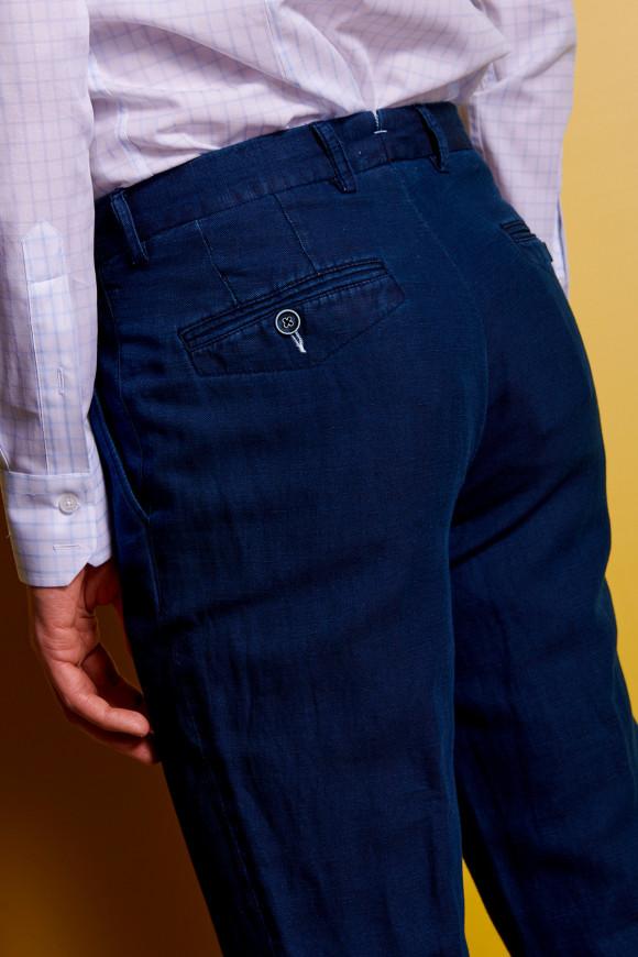Pantalon 'Navy' Lin-Coton