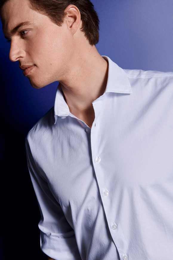 CHEMISE REPORTER BLANCHE