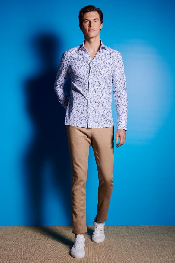 Pantalon Lino Beige