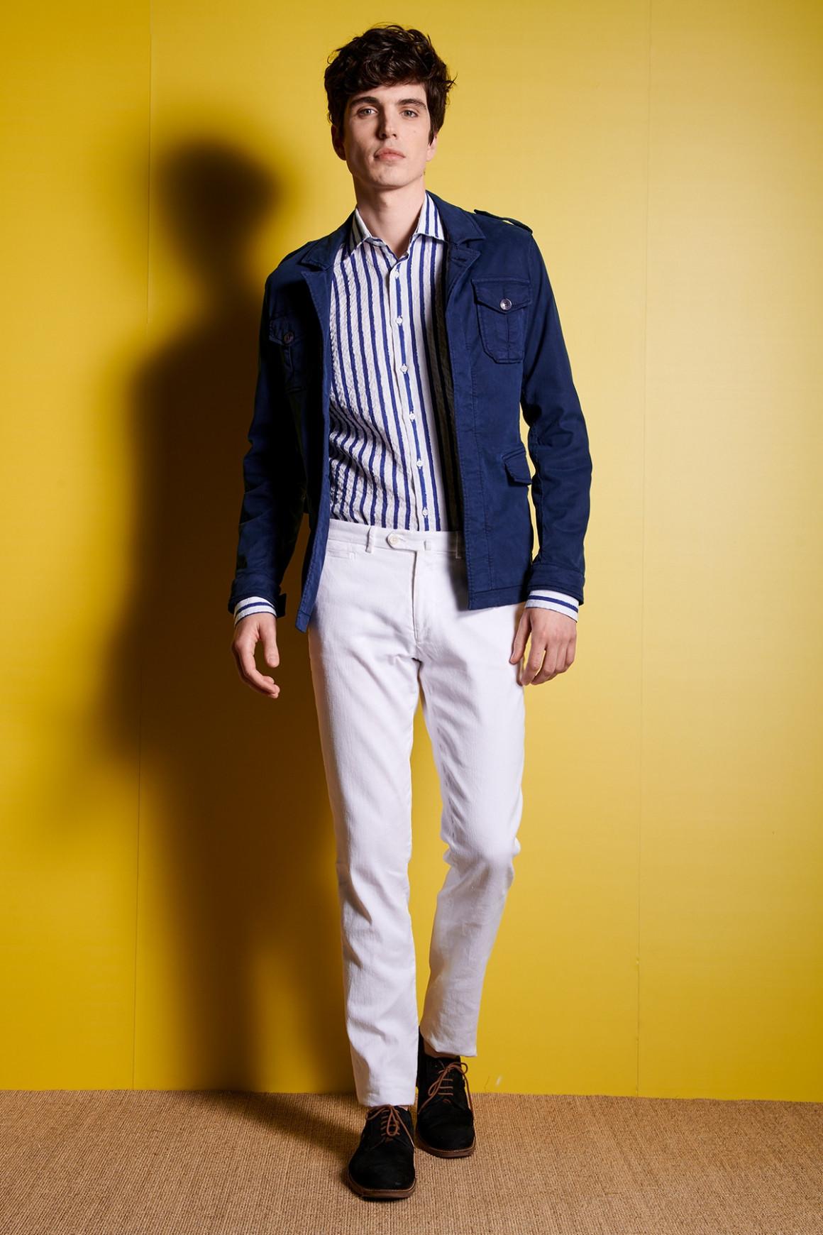 Pantalon Lino Blanc