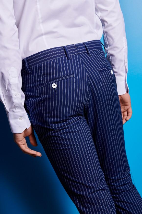 Pantalon Napoli à rayures