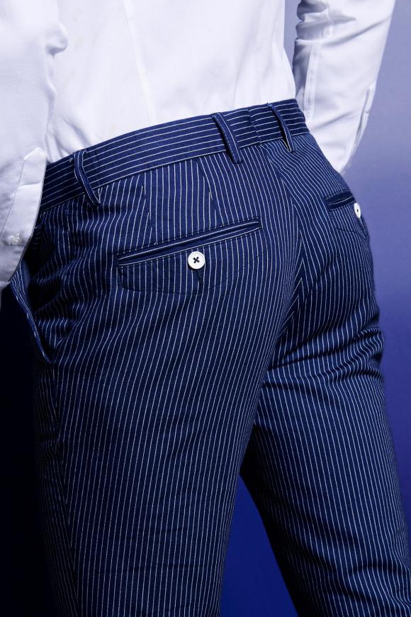 Pantalon Napoli rayure tennis