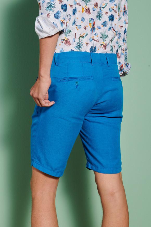 Bermuda 'Marcel' Stretch Turquoise
