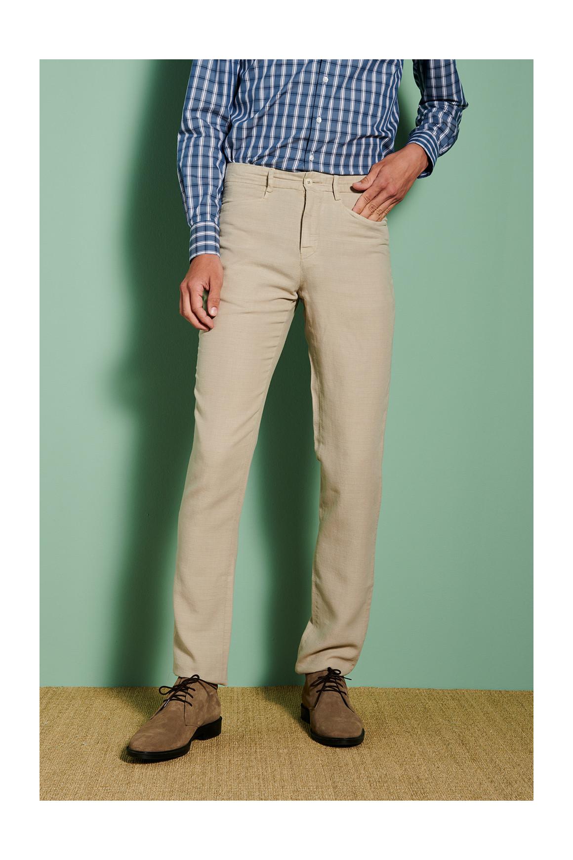 Pantalon Marcel Beige...