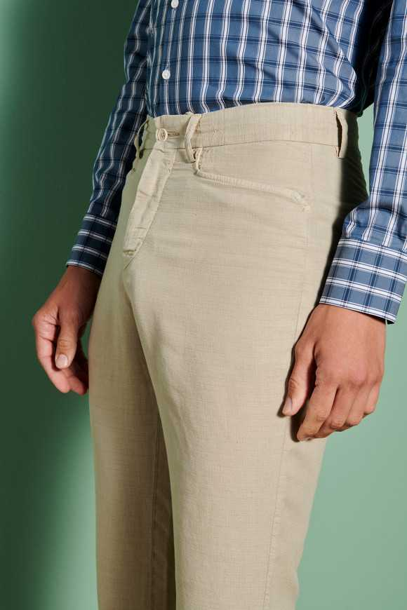 Pantalon Marcel Beige (Poche cavalier)