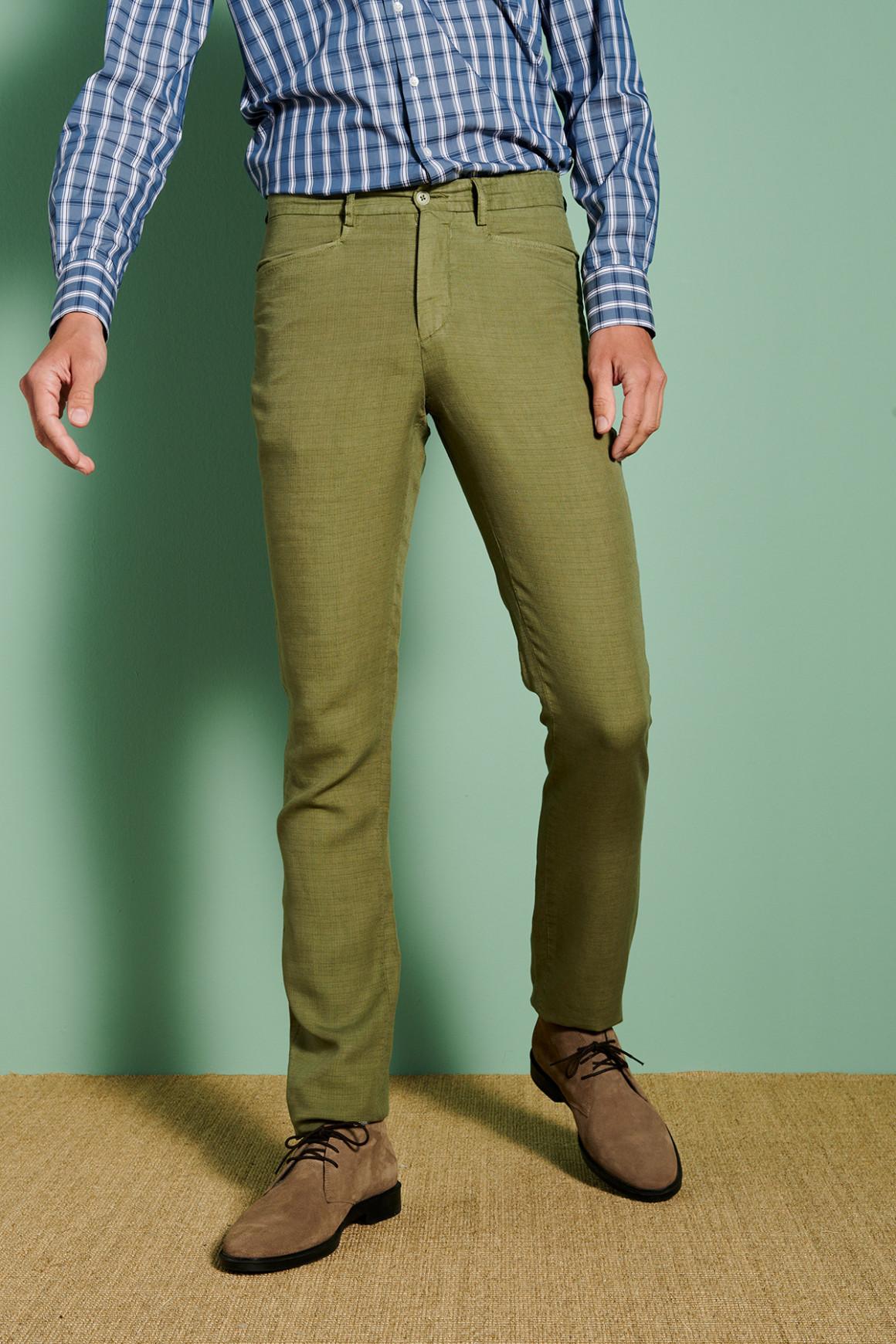 Pantalon Marcel Vert (Poche...