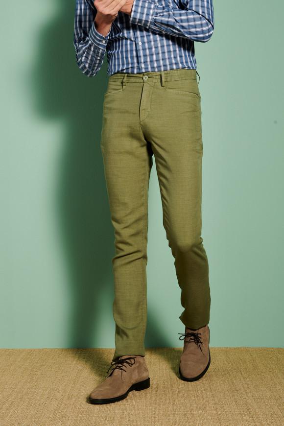 Pantalon Marcel Vert (Poche cavalier)