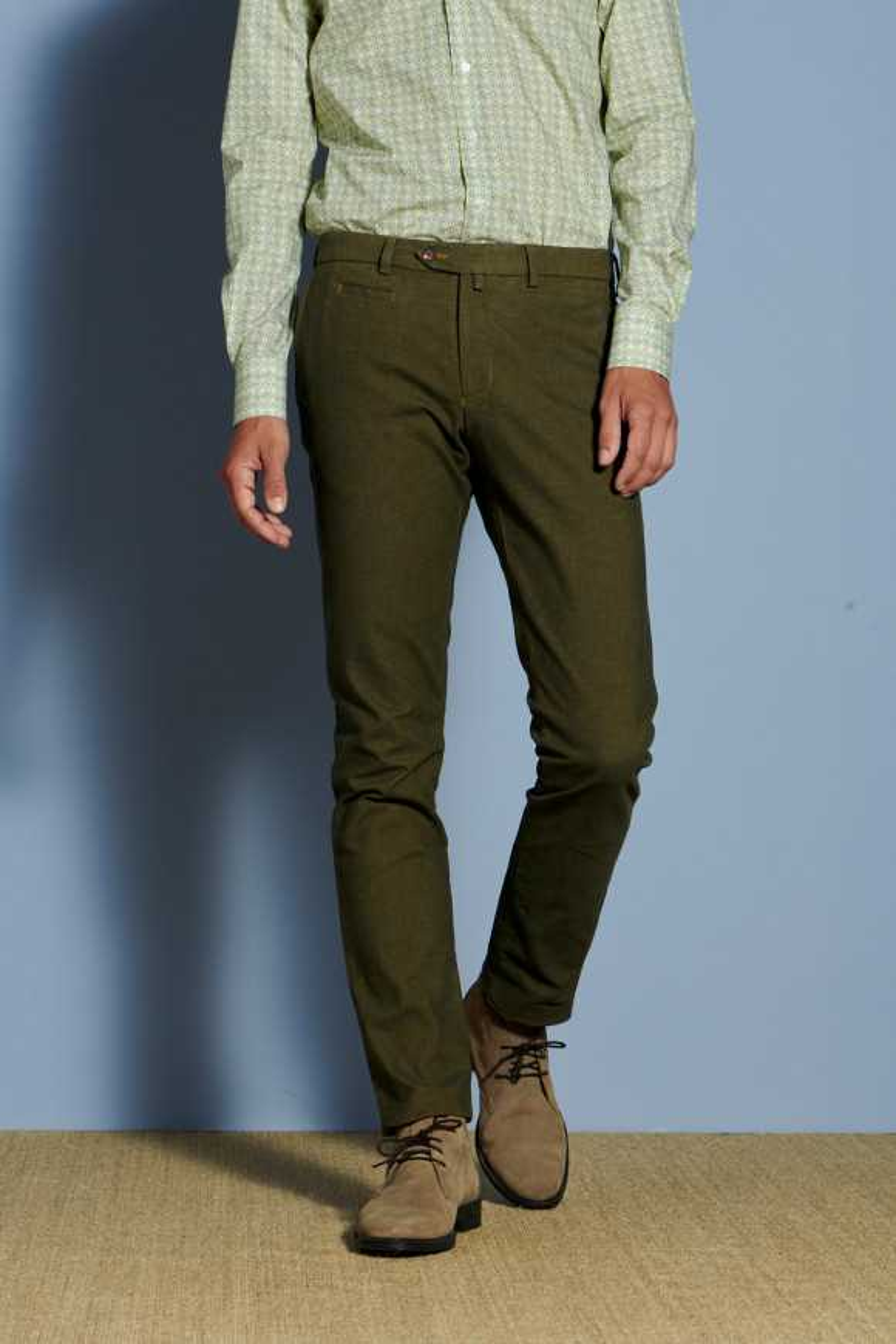 Pantalon Arthur1 Moutarde