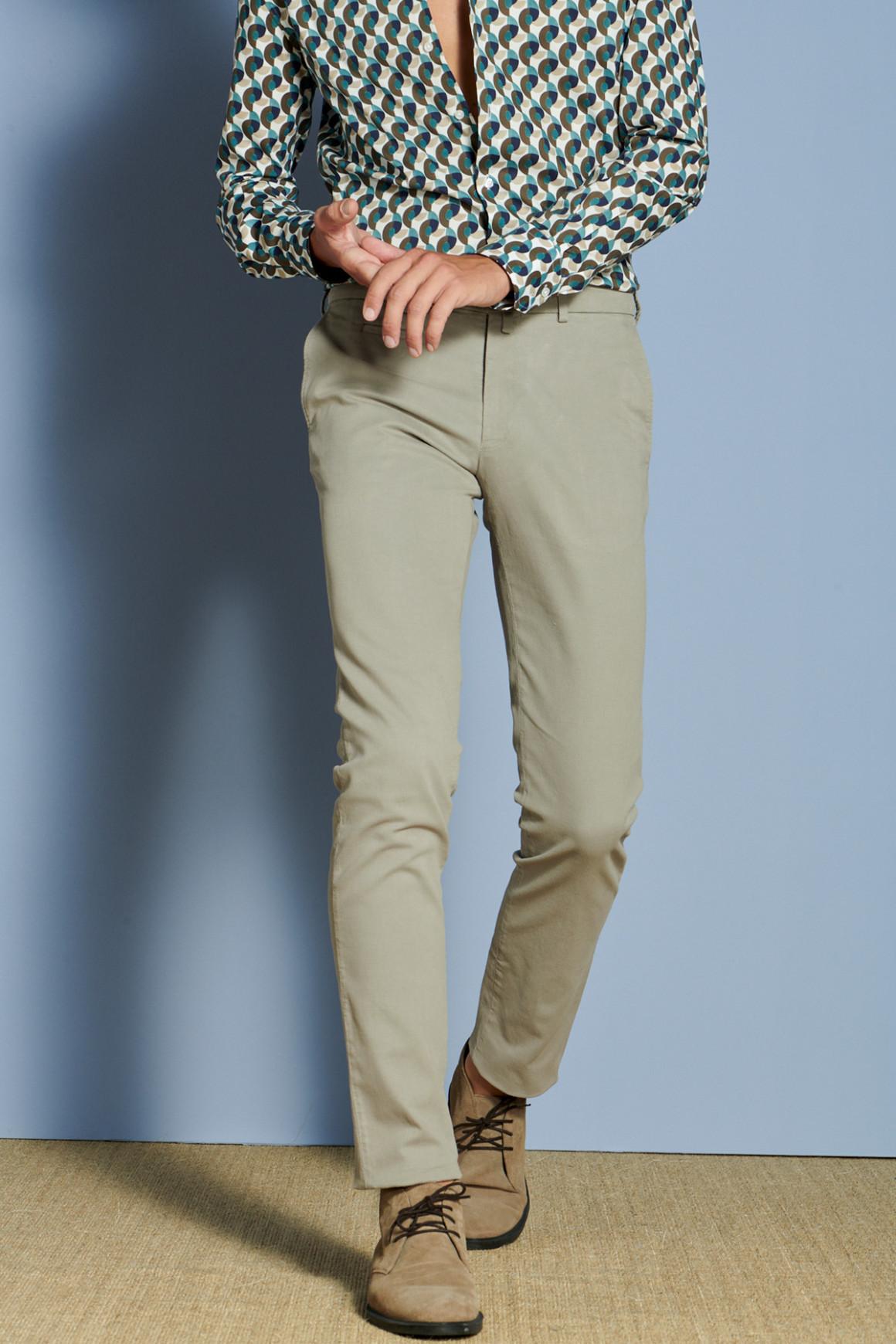 Pantalon Arthur3 Taupe