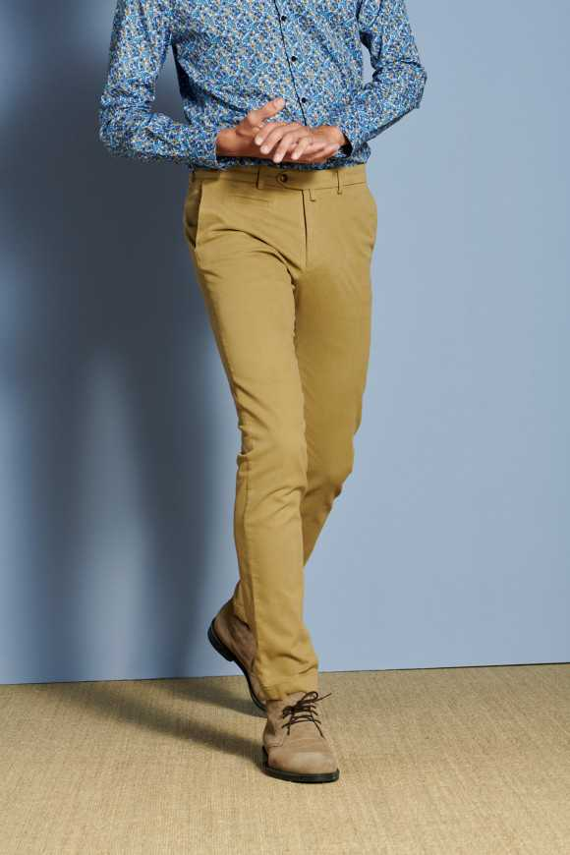 Pantalon Arthur3 Moutarde